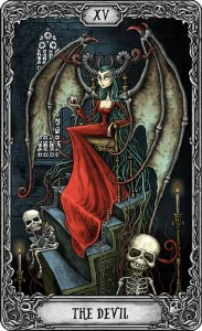 The Dark Mansion Tarot - Large Version of the cards in Carton Box